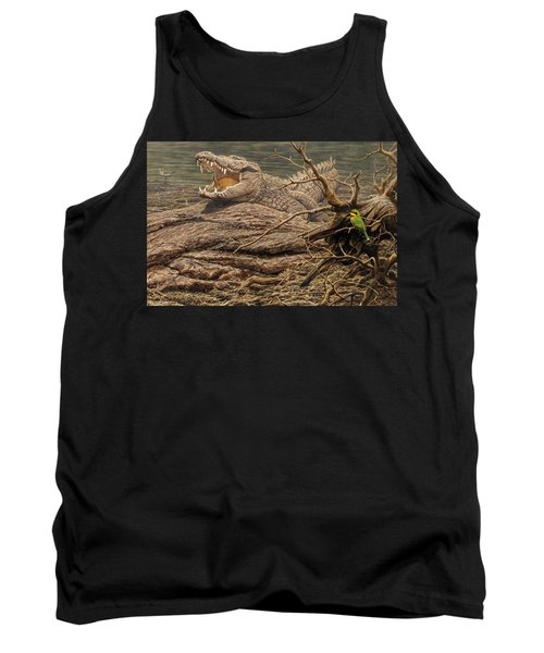 Alligator Tank Top