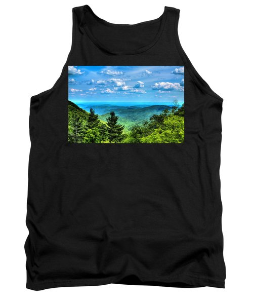 Alligator Back Overlook Tank Top by Dale R Carlson