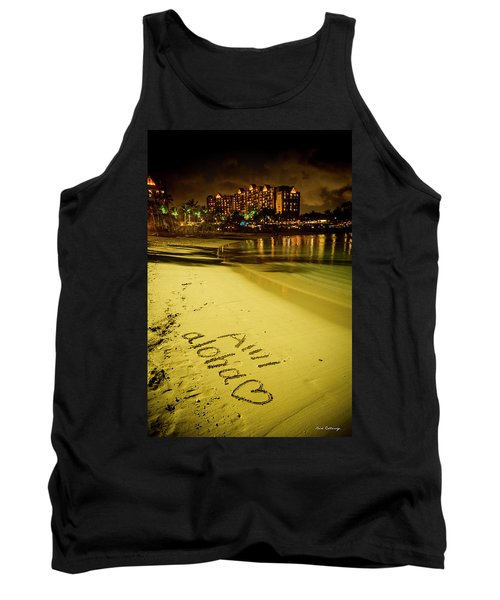 Ami Aloha Aulani Disney Resort And Spa Hawaii Collection Art Tank Top