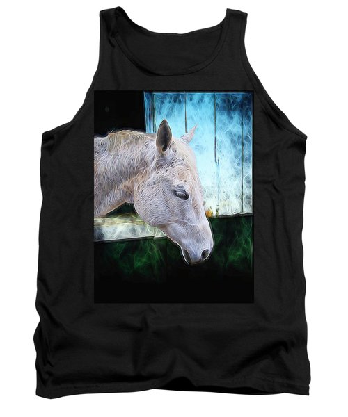 Tank Top featuring the photograph Alone  by Aaron Berg