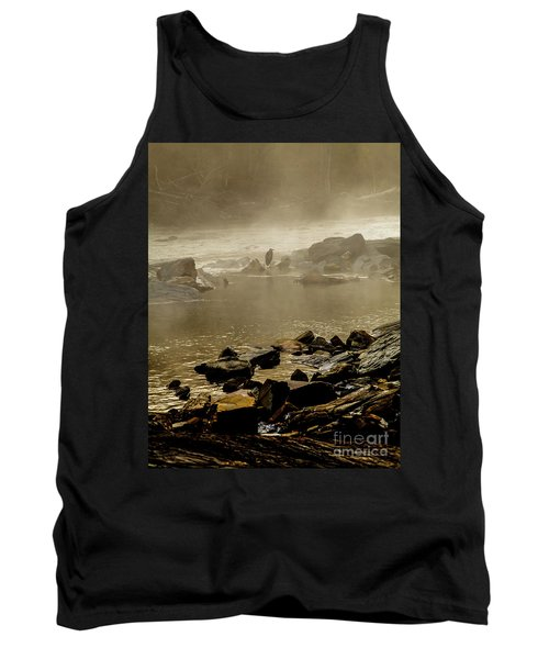 Tank Top featuring the photograph Alone In The Mist by Iris Greenwell