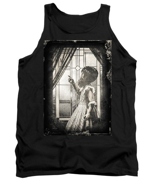Along Came A Spider Tank Top