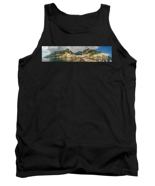 Tank Top featuring the photograph Amalfi by Steven Sparks