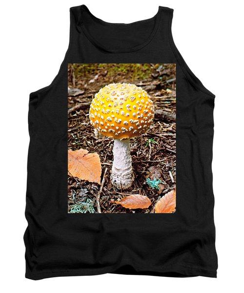 Amanita Mushroom Photo Tank Top