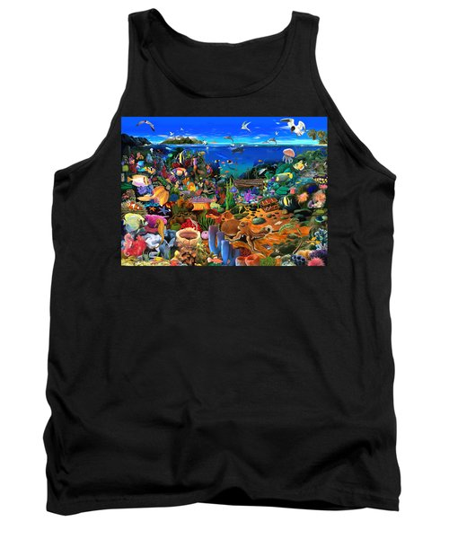 Amazing Coral Reef Tank Top