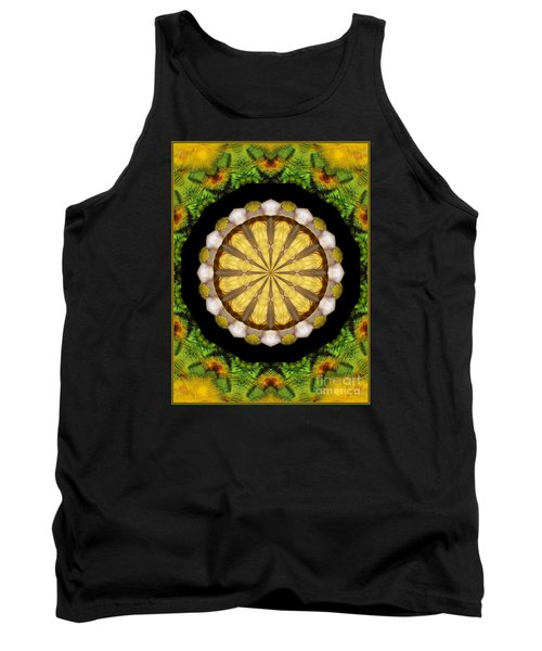 Tank Top featuring the photograph Amazon Kaleidoscope by Debbie Stahre