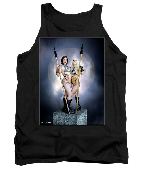 Amazon With Spears Tank Top