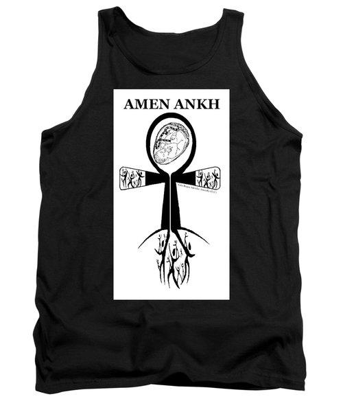 Amen Ankh Bw Tank Top