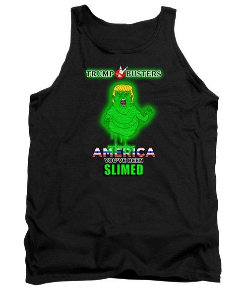 America, You've Been Slimed Tank Top