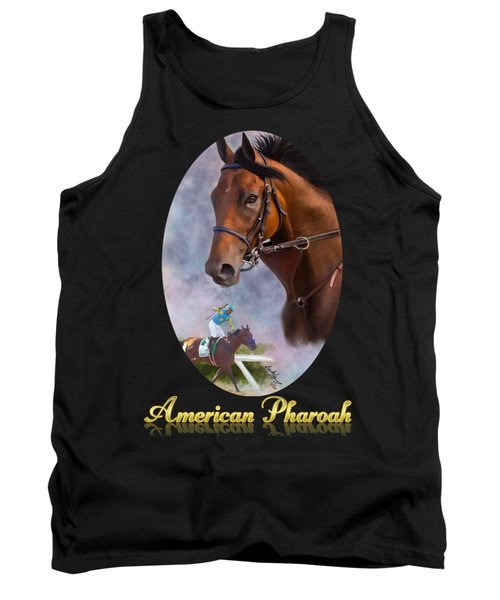 American Pharoah Framed Tank Top