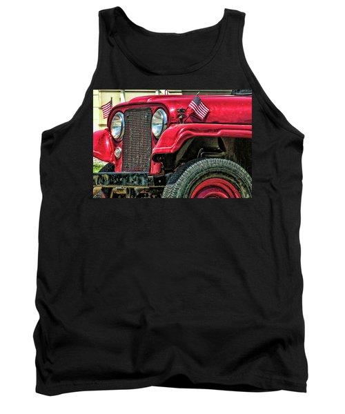 American Willys Tank Top
