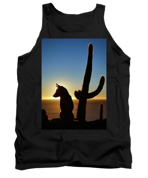 Tank Top featuring the photograph Amigo by Skip Hunt