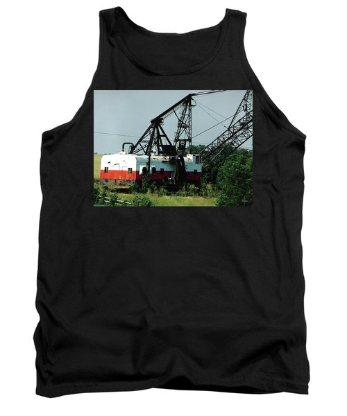 Abandoned Dragline Excavator In Amish Country Tank Top