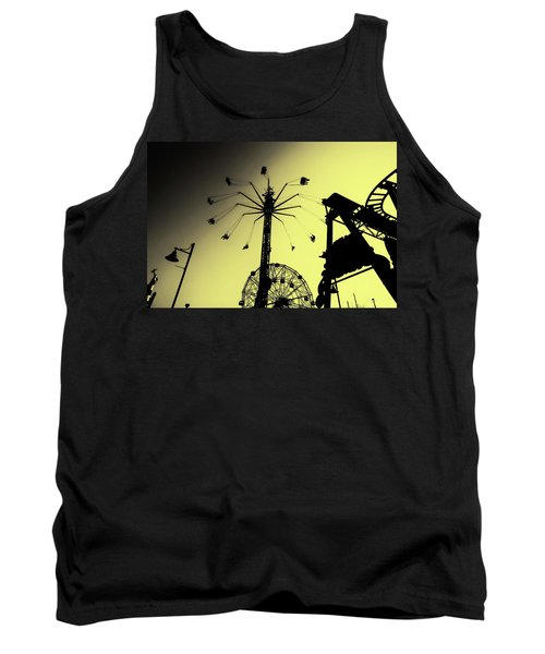 Amusements In Silhouette Tank Top