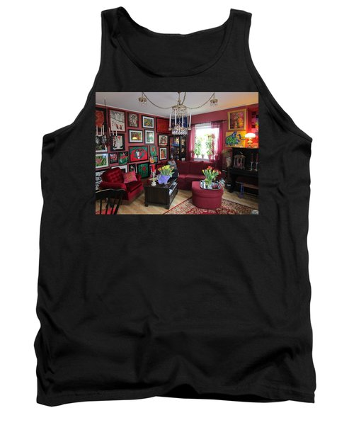 An Artists Livingroom Tank Top