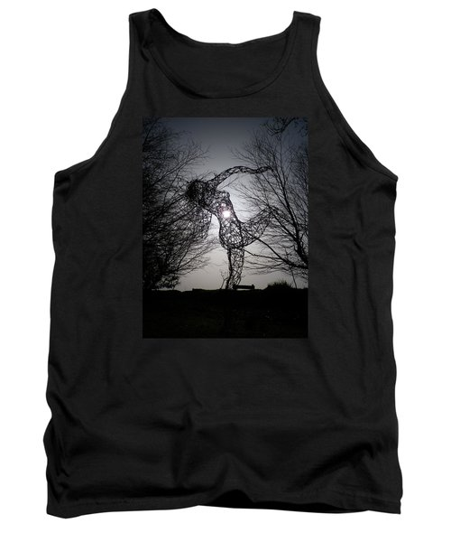 An Eclipse Of The Heart? Tank Top by Richard Brookes