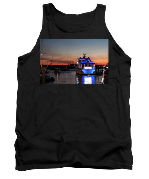 Tank Top featuring the photograph An Evening In Newport Rhode Island II by Suzanne Gaff