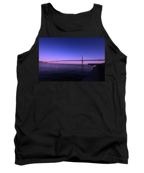 An Evening In San Francisco  Tank Top by Linda Edgecomb