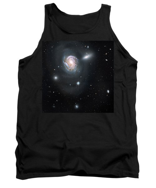 Tank Top featuring the photograph An Island Universe In The Coma Cluster by Nasa