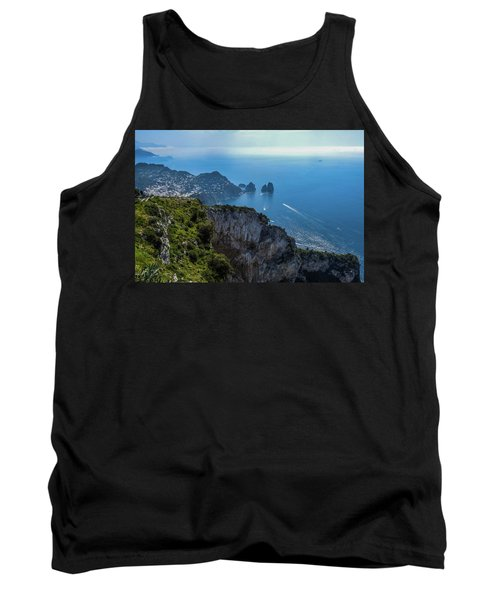 Anacapri On Isle Of Capri Tank Top