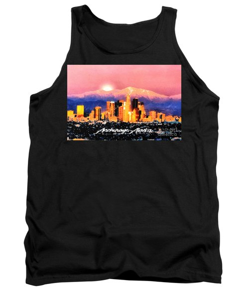 Anchorage - Bright-named Tank Top by Elaine Ossipov