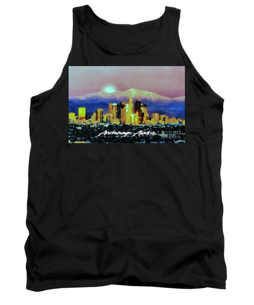 Anchorage-subdued Tank Top by Elaine Ossipov