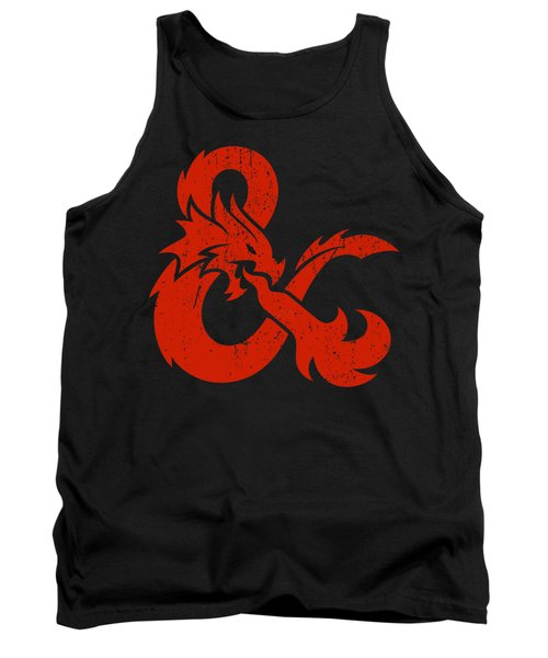 And Logo With Dragon Tank Top
