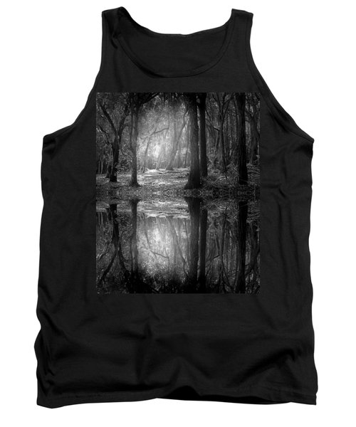 And There Is Light In This Dark Forest Tank Top