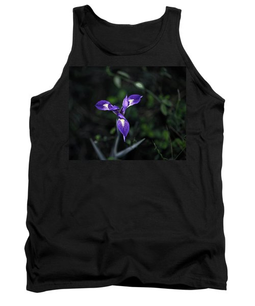 Angelpod Blue Flag Tank Top by Sally Weigand