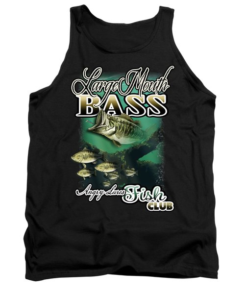 Angry Lures Fish Club Tank Top