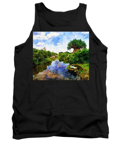Animal Kingdom Tranquility Tank Top