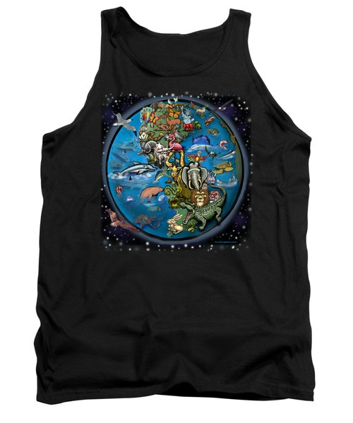Animal Planet Tank Top by Kevin Middleton