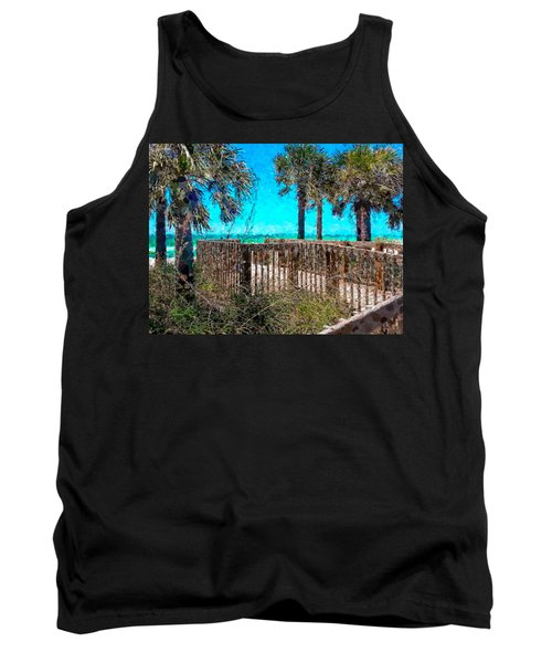 Anna Maria Boardwalk Access Tank Top