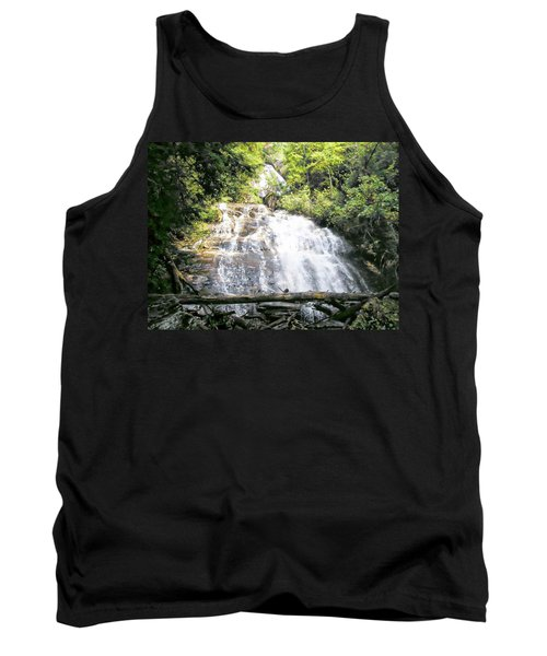 Tank Top featuring the photograph Anna Ruby Falls by Jerry Battle