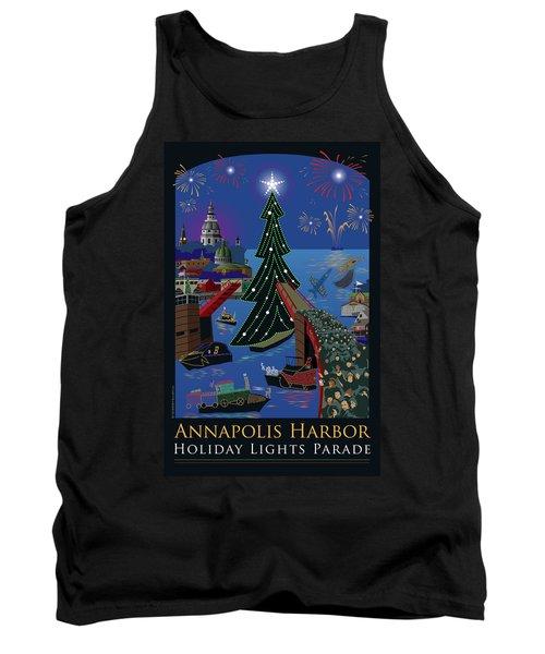 Annapolis Holiday Lights Parade Tank Top
