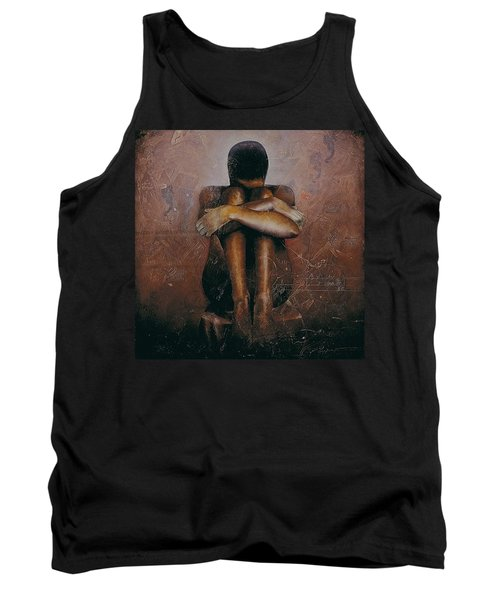 Annunciation / Mary Tank Top by Christopher Marion Thomas