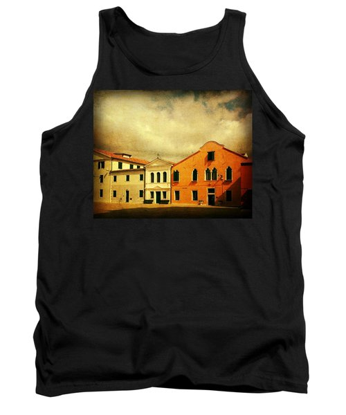 Tank Top featuring the photograph Another Malamocco Day by Anne Kotan