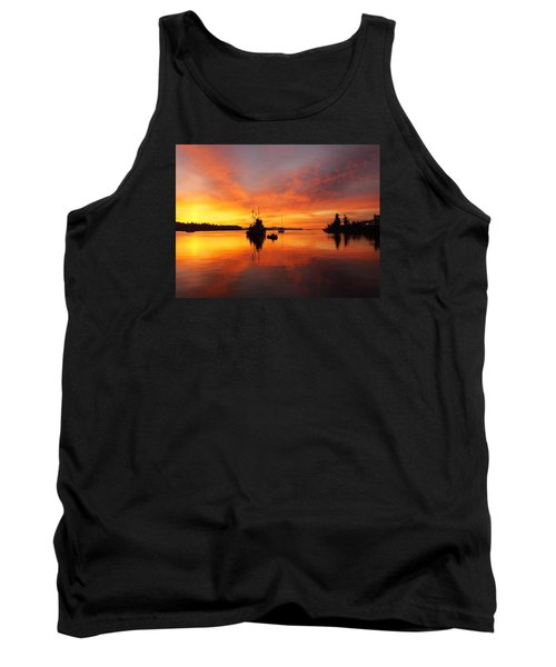 Another Morning Tank Top by Mark Alan Perry