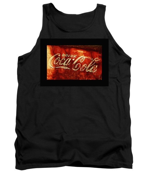 Antique Coca-cola Cooler II Tank Top