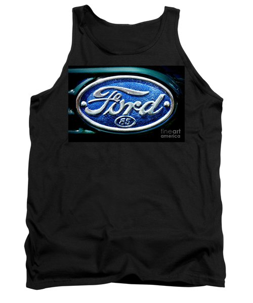 Antique Ford Badge Tank Top