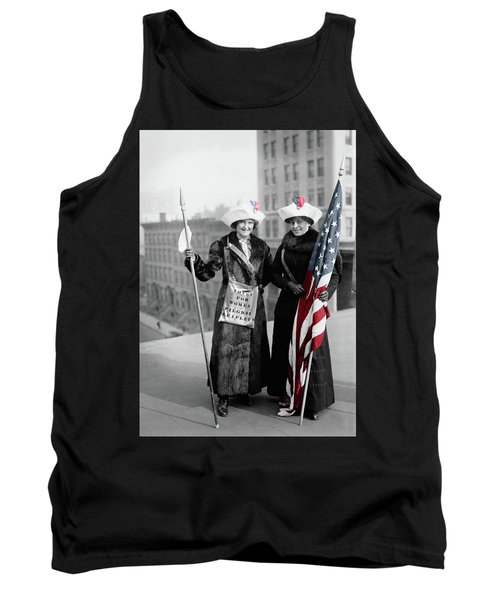 Antique Photo Of Two Women Tank Top