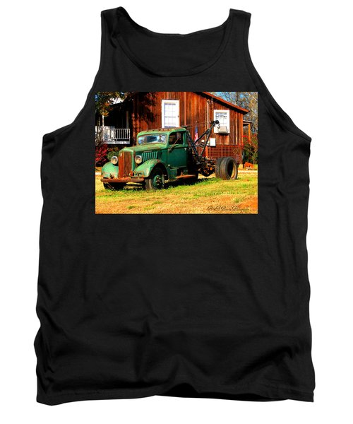 Antique Tow Truck Tank Top
