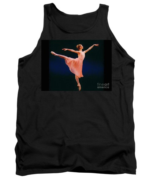 Tank Top featuring the painting Arabesque by Rosario Piazza