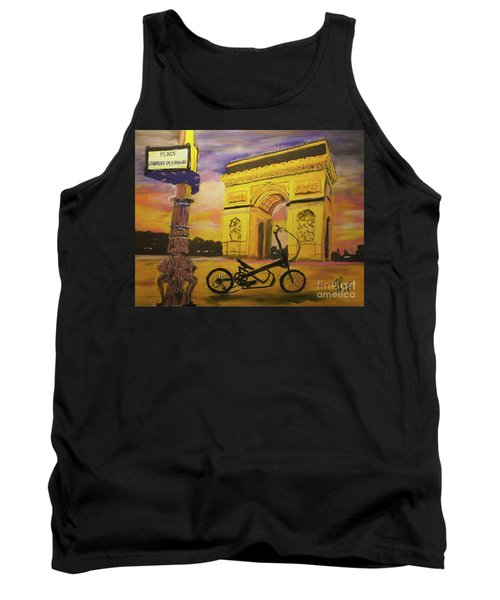 Arc De Triomphe Tank Top