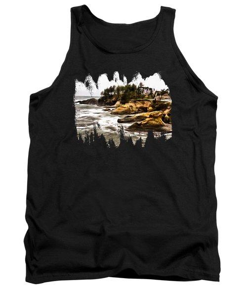 Arch Rock Depoe Bay Tank Top by Thom Zehrfeld