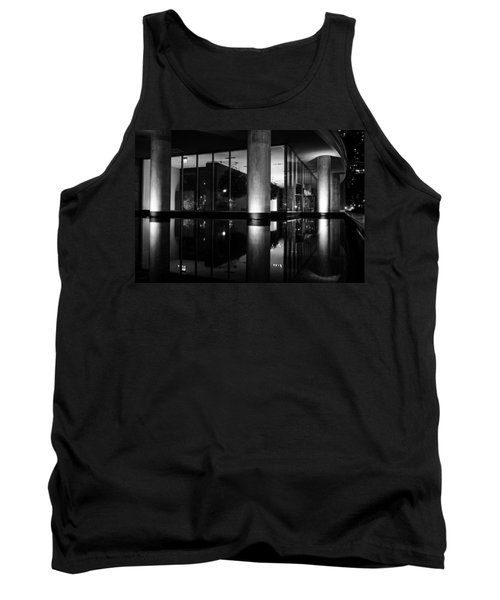 Architectural Reflecting Pool 2 Tank Top by John McArthur