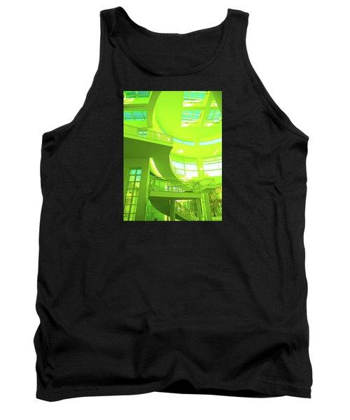 Green Splash Architecture Tank Top