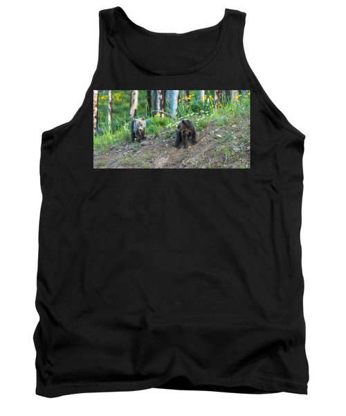 Tank Top featuring the photograph Are You Coming With Me by Yeates Photography