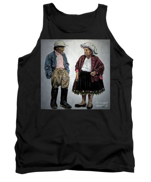 Are You Going To Town Like That? Tank Top