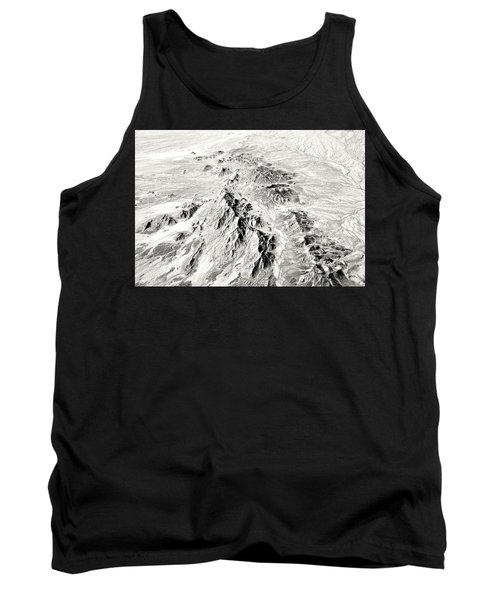 Arizona Desert In Black And White Tank Top